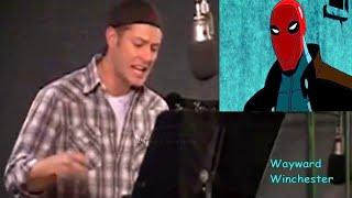 Jensen Ackles Voicing Red Hood In Batman Under The Red Hood & Watching Himself On TV