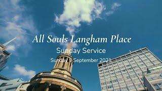 """Sunday Service: """"It Starts with Prayer"""" (Sunday 5 September 2021)"""