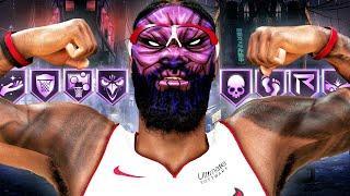 BADGE UPDATE w/INSANE QUADRUPLE-DOUBLE! NBA 2K20 My Career Gameplay Best Center Build