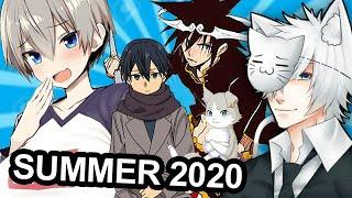 Summer 2020 Anime Season: What Will I Be Watching?