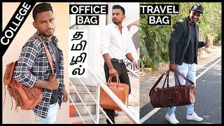 4 STYLISH Bag's Every MAN Should Have | Men's Fashion Tamil