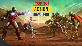 Top 10 Action Games/ Best High Graphics Android Games For Android 2020 ((Offline/Online))