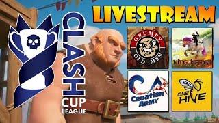 CLASH CUP LEAGUE FINALS! 2 Hour of NONSTOP TH10-12 Attacks! Top Level Clash of Clans WARS!