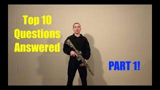 Top 10 Questions from Airsoft Beginners Answered | Part 1 | Questions 1-6