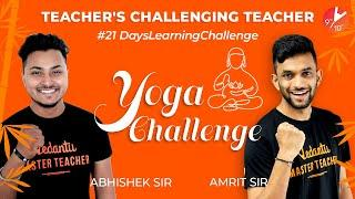 Teachers Challenging Teachers | #21DaysLearningChallenge Learn During Lockdown @Vedantu Class 9 & 10