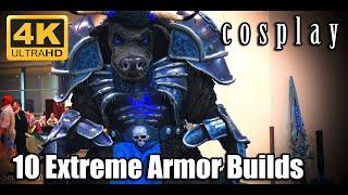 Top 10 Extreme Cosplay Armor Builds - Massive Cosplay Armors - 4k Cosplay Video