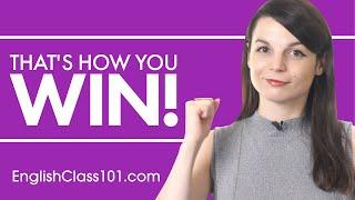 4 Easy Ways to Win While Learning English