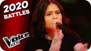 Lena - Traffic Lights (Michelle/Charis/Joleen/Nils)   The Voice Kids 2020   Battles