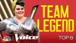 "Katie Kadan Grooves to LaBelle's ""Lady Marmalade"" - The Voice Live Top 8 Performances 2019"