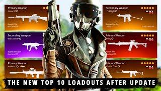 The *NEW* TOP 10 BEST LOADOUTS to Use After Update... (Warzone Best Classes Season 4 Reloaded)