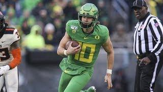 Justin Herbert praised for supporting his teammates, bringing relentless approach to the field