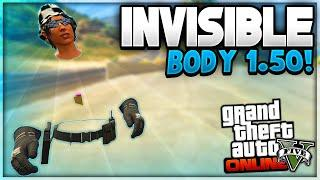 """GTA 5 Online - 100% INVISIBLE BODY GLITCH """"After Patch 1.50"""" (GTA 5 Invisible Body)"""