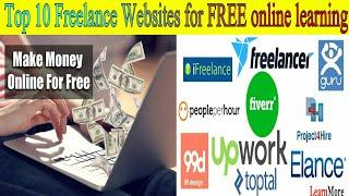 Top 10 Freelancing Websites 2020 | Earn Money Online | Freelancing Websites for Free Online Earning