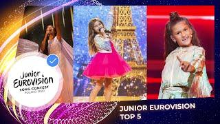 The Top 5 of Junior Eurovision 2020