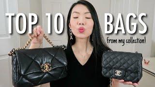 MY TOP 10 HANDBAGS OF 2020!   FashionablyAMY