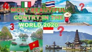 Top 10 Most Beautiful Country In The World 2020 by Population|10 Negara Terindah Di Dunia Tahun 2020