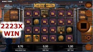 2223X!!! TOP 3 BIGGEST WINS ON MONEY TRAIN SLOT ★ MY RECORD WIN!!!