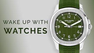 Rolex GMT-Master II & Patek Aquanaut Green; Luxury Watches to Buy in 2020