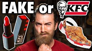 Are These KFC Products Real or Fake?