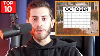 TOP 10 Reasons OCTOBER Is The BEST Month