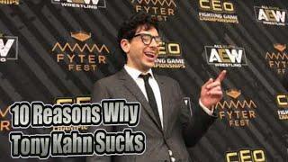 Top 10 Sucks: Tony Khan