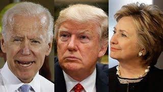Trump Gets Biden to Pick Republican Vice President Paving Way for Clinton's Presidential Run