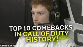 TOP 10 Comebacks in Call of Duty History!