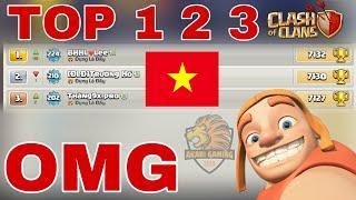 BỘ BA GAME THỦ VIỆT NAM TOP 1 2 3 THẾ GIỚI Clash of clans Là Ai? | Akari Gaming