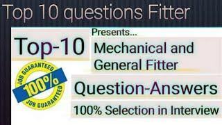 TOP 10 QUESTIONS FITTER. Answers comment Karo.