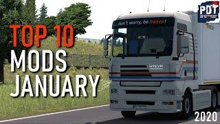 ✅[ETS2. V1.36]...PDT...TOP 10 MODS JANUARY 2020 | EURO TRUCK SIMULATOR 2