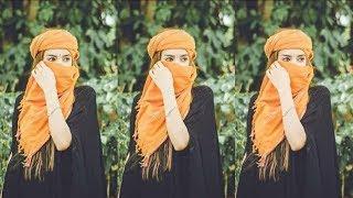 Top 10 Hijab stylish photo poses  Hijab Hidden photo poses  Muslim girls hidden photo poses  
