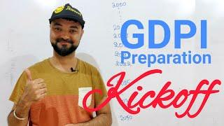 GDPI Kickoff - Know yourself. Your biography from 2000-2050. First activity in Interview prep