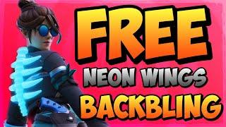 How To Get Neon Wings Backbling In Fortnite (Fortnite Party Royale Rewards)