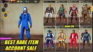Free Fire Best Account Level-66 sale all collection and 4th elite pass to continue are all gun skin