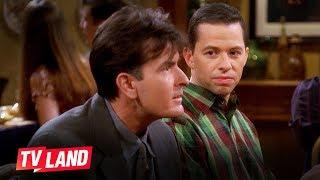 10 Dating Tips from Charlie & Alan | Two and a Half Men