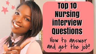 TOP 10 INTERVIEW QUESTIONS| How to answer them & guarantee you get the job!