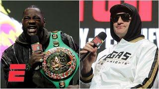 Deontay Wilder vs. Tyson Fury II Final Press Conference Highlights   Boxing on ESPN