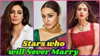 10 Bollywood Stars who will Never Get Married