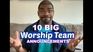 Top 10 Worship Team Announcements (for the Coronapocalypse)