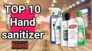 Top 10 স্যানিটাইজার ! Top 10 hand sanitizer in India ! sanitizer brands ! ep-2