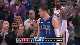 Dallas Mavericks vs New Orleans Pelicans   March 4, 2020