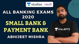Small Bank & Payment Bank | All Banking Exams 2020 | Abhijeet Mishra