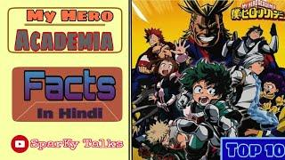 Top 10 facts about My hero academia You dont know