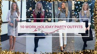 10 Work Holiday Party Outfits ❄️