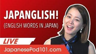 Japanglish Words: English Words Used Differently in Japan
