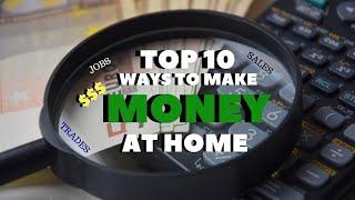 Best Top 10 Ways to Make MONEY at Home | How to Make Money in Quarantine 2020 | Lockdown edition