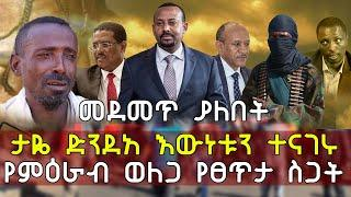 Ethiopia መደመጥ ያለበት ታዬ ድንደአ እውነቱን ተናገሩ የምዕራብ ወለጋ የፀጥታ ስጋት   Taye Dendea Property Party