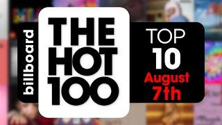 Early Release! Billboard Hot 100 Top 10 Singles  (August 7th, 2021) Countdown