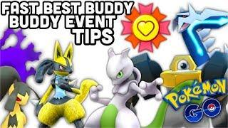 Fast Best Buddy w/ Buddy Event in Pokemon GO | Top best Buddy Pokemon to walk