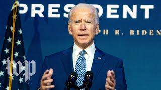 WATCH: Biden delivers remarks on Supreme Court case surrounding Affordable Care Act